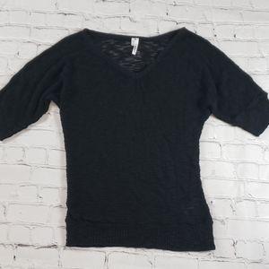 Shimmer V-Neck Sweater